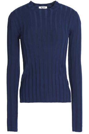 ACNE STUDIOS Carin ribbed merino wool-blend sweater