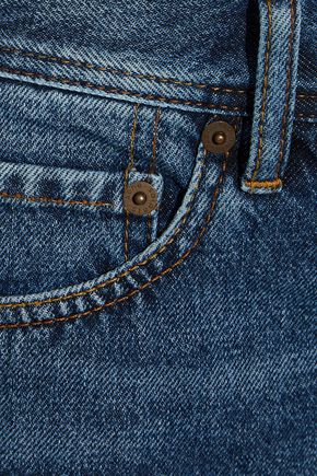 ACNE STUDIOS Faded denim shorts