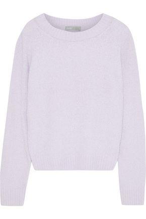 VINCE. Cotton-blend bouclé sweater