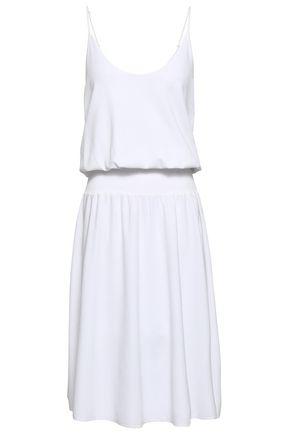 A.L.C. Smocked stretch-knit dress