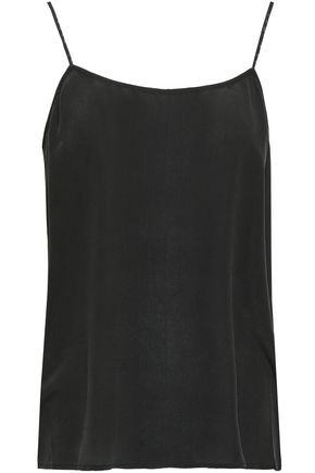 EQUIPMENT Cara washed-silk camisole