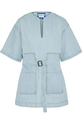 ACNE STUDIOS Cargo belted denim tunic