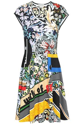 MARY KATRANTZOU Printed stretch-jersey mini dress