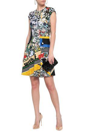 MARY KATRANTZOU Printed stretch-jersey mini dress