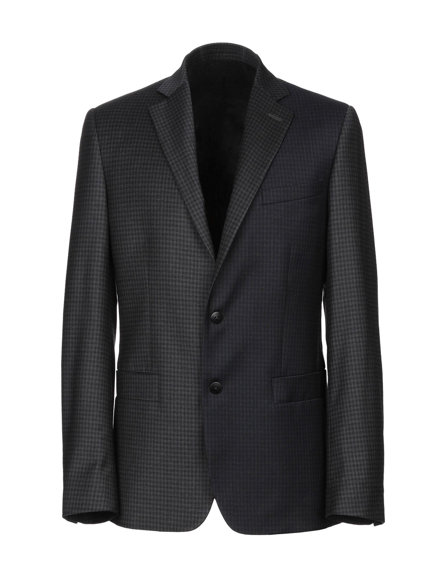 CEDRIC CHARLIER Пиджак шерстяной пиджак мужской в клетку