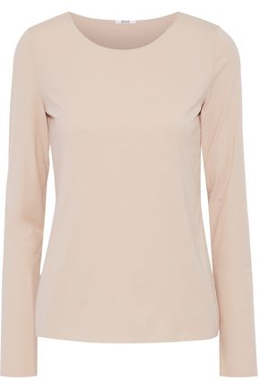 WOLFORD Stretch-modal jersey top