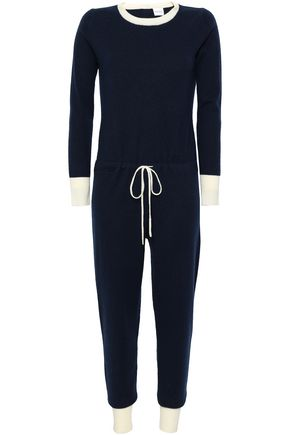 MADELEINE THOMPSON Two-tone wool and cashmere-blend jumpsuit