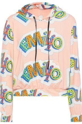 EMILIO PUCCI Printed stretch-jersey hoodie
