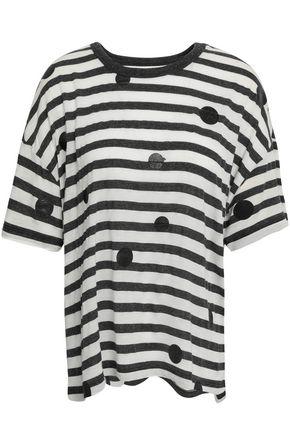 CURRENT/ELLIOTT Printed modal-blend T-shirt