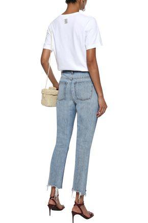 ROSIE ASSOULIN Printed Pima cotton-jersey T-shirt