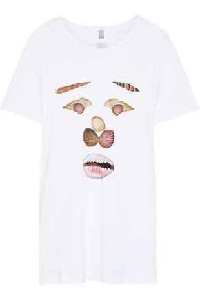 ROSIE ASSOULIN Printed Pima cotton-jersey T-shirt