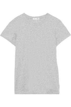 RAG & BONE The Tee mélange Pima cotton-jersey T-shirt