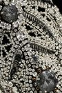 BADGLEY MISCHKA Embellished velvet dress