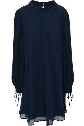 BADGLEY MISCHKA Flared georgette dress