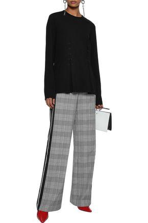 Rosie Assoulin Woman H&E Hook-Detailed Cady Top Black