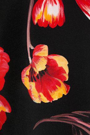 GOAT Garland floral-print crepe mini dress