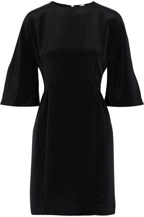 ADAM LIPPES Silk-crepe mini dress