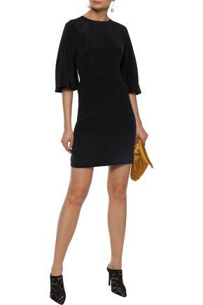 ADAM LIPPES Silk-crepe mini dress