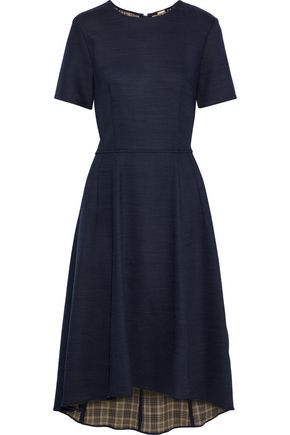 ADAM LIPPES Stretch-twill midi dress