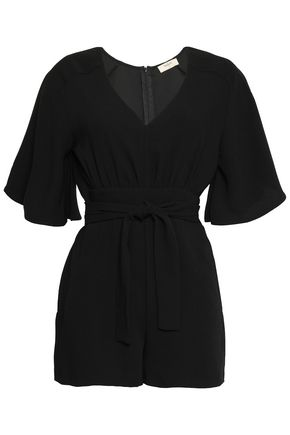 BA&SH Belted cady playsuit