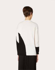 Cashmere Inlay Sweater