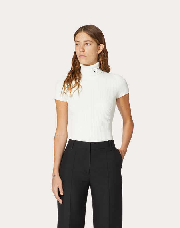 VLTN STRETCH VISCOSE TOP