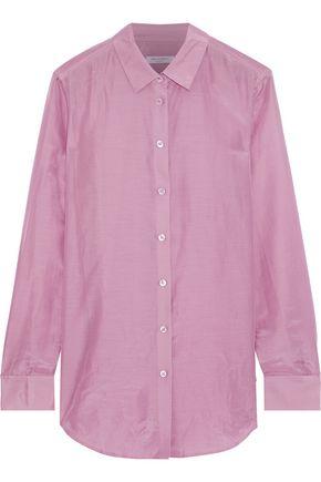 EQUIPMENT Essential cotton and silk-blend organza shirt
