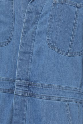 J BRAND Traveler cropped denim jumpsuit