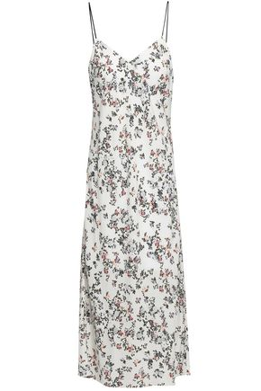 RAG & BONE Astrid floral-print satin midi slip dress