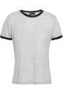 RAG & BONE Brighton glittered stretch-jersey T-shirt