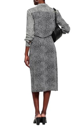 good quality factory outlet many choices of Karen leopard-print silk midi shirt dress | RAG & BONE ...