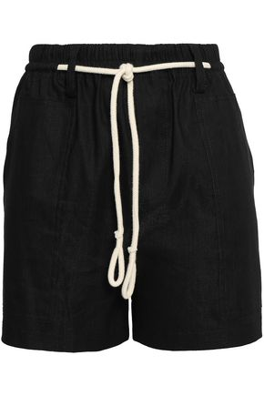VINCE. Stretch-linen shorts