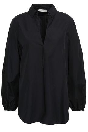 VINCE. Cotton-poplin shirt
