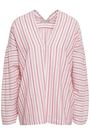 VINCE. Striped cotton top