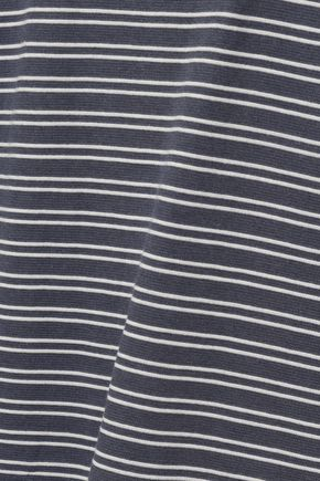AMERICAN VINTAGE Striped French terry top