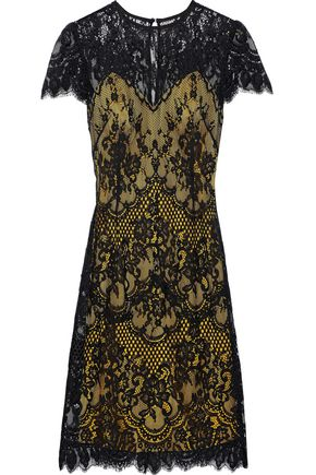 CATHERINE DEANE Cotton-blend lace dress