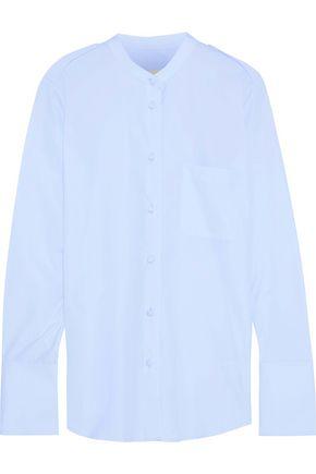 KHAITE Katarina cotton-poplin shirt