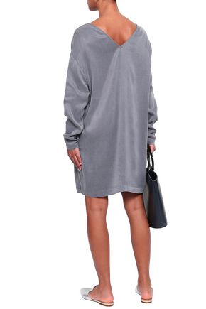 AMERICAN VINTAGE Ipiwood washed-crepe mini dress