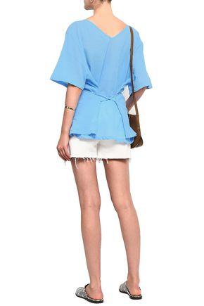 AMERICAN VINTAGE Cotton georgette tunic