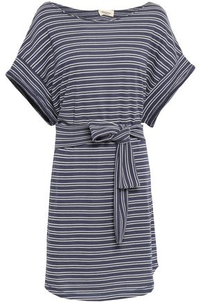 AMERICAN VINTAGE | American Vintage Striped French Terry Mini Dress | Goxip