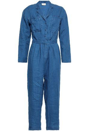 AMERICAN VINTAGE Cropped linen jumpsuit