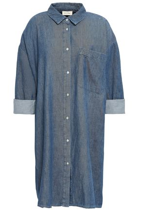 AMERICAN VINTAGE Gateburg denim shirt dress