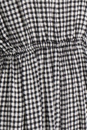 AMERICAN VINTAGE Gingham woven jumpsuit