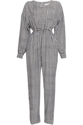 AMERICAN VINTAGE Gingham woven jumpsuit