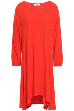 AMERICAN VINTAGE | American Vintage Flared Crepe-Satin Mini Dress | Goxip