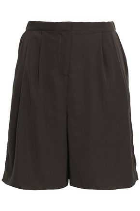 AMERICAN VINTAGE Matiford pleated crepe shorts