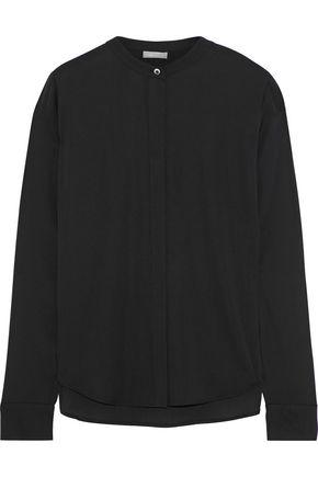 64b22d51539237 VINCE. Stretch-silk shirt