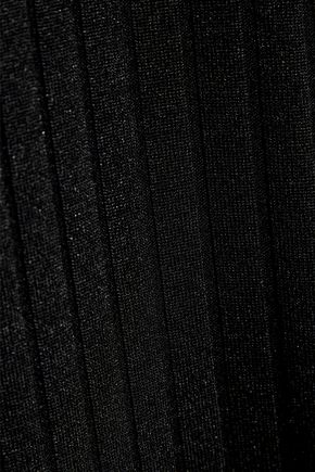 MICHAEL LO SORDO Cutout ribbed jersey maxi dress