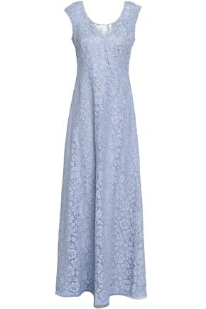 MIKAEL AGHAL Bead-embellished corded lace maxi dress
