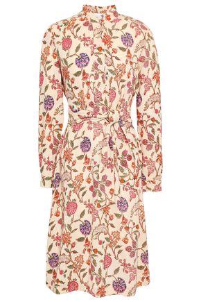 ANTIK BATIK Alina floral-print cotton-gauze dress